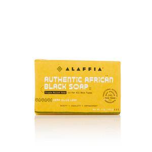 Authentic African Black Soap Triple Milled – Hemp Olive Leaf