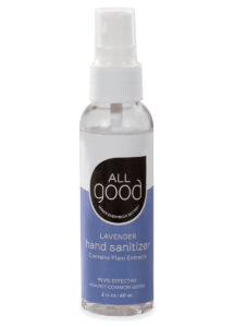 Lavender Hand Sanitizer Spray – 2oz – All Good Products