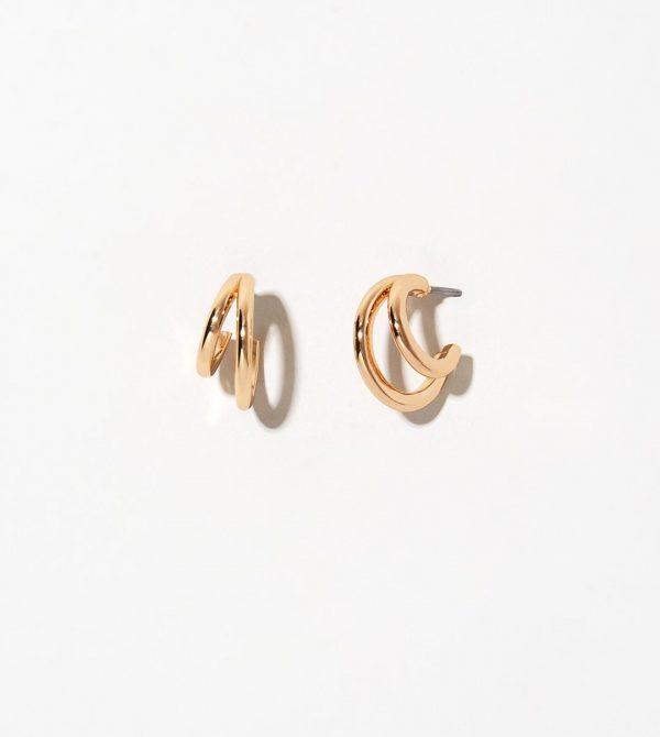 Double Hoop Earrings – Scarlett