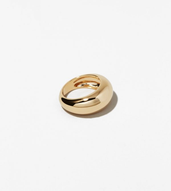 Gold Dome Ring – Noa