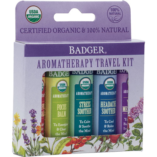 Aromatherapy Travel Kit  | Badger Balm
