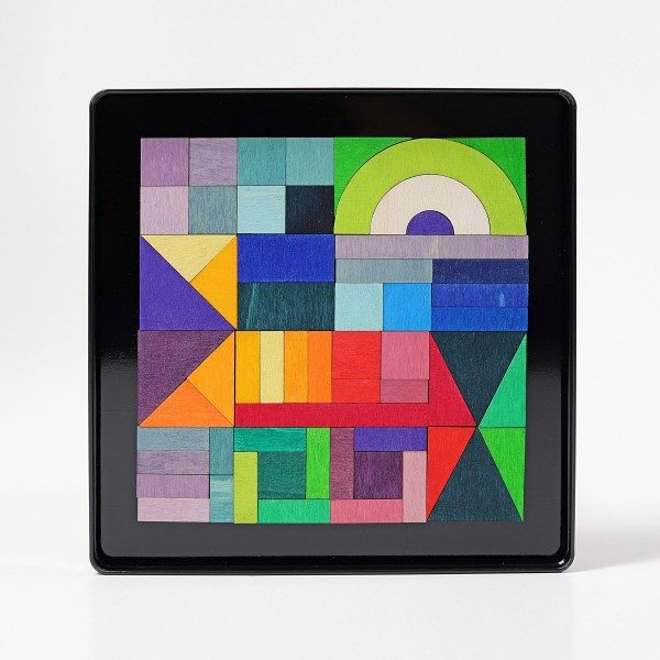 Magnet Puzzle Geo-Graphical