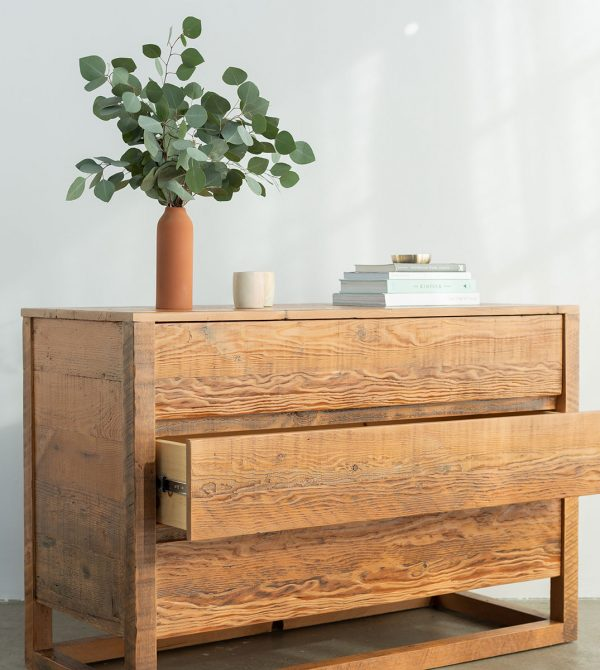 Eco Reclaimed Wood Dresser | Avocado Green Mattress®