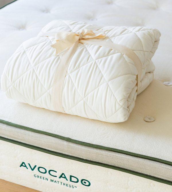 Organic Cotton Mattress Pad Protector
