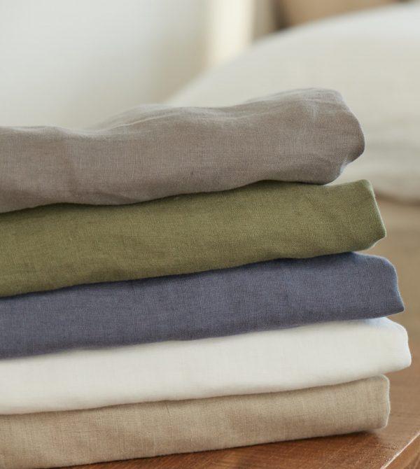 Organic Linen Duvet Cover