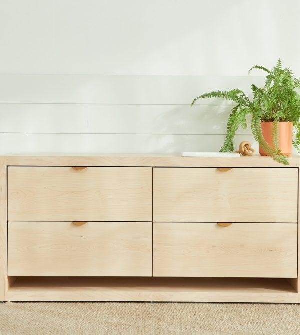 Malibu Wood Dresser