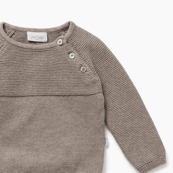 Biscuit Knitted Jumper