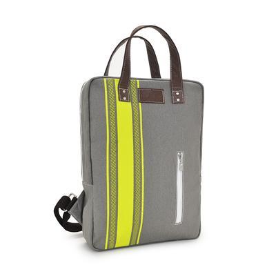Laptop Backpack - Mod Stripe Lime/ Ash