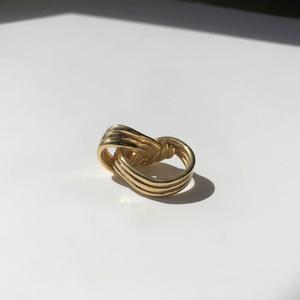 Braid Ring | Gold Plated