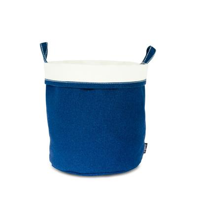 Canvas Bucket - Waxed Navy