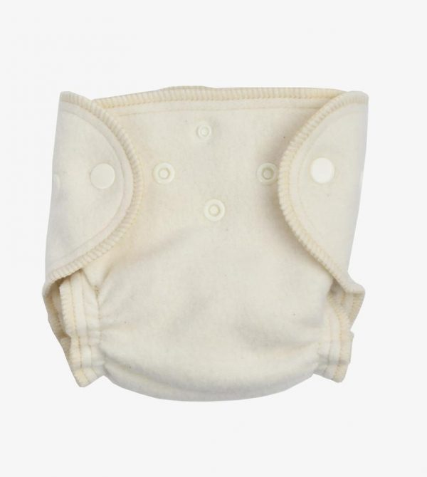 Organic Cotton Fitted Diaper – Newborn