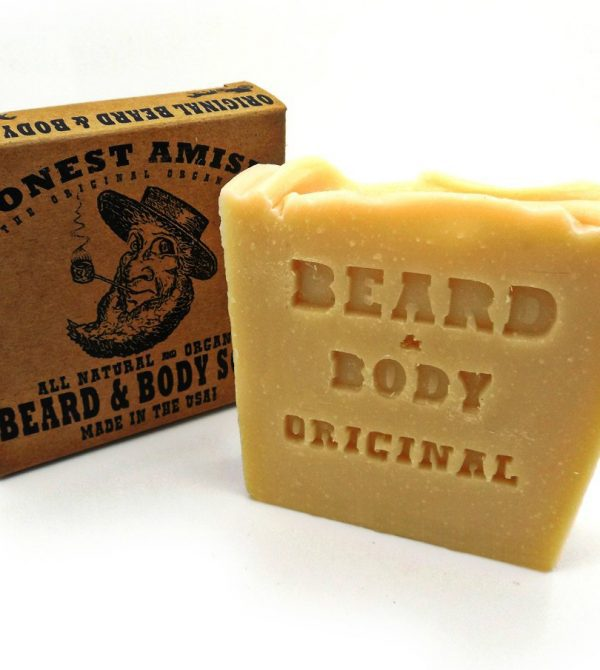 Original Beard and Body Soap by Honest Amish