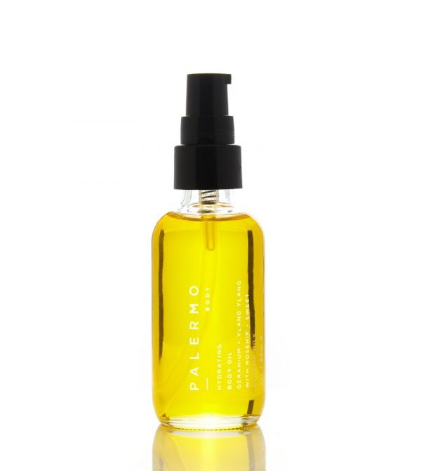 Hydrating Body Oil – Geranium + Ylang Ylang