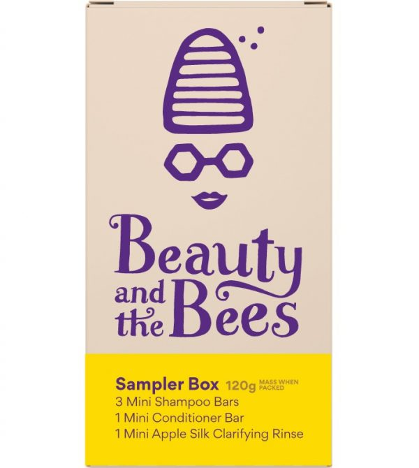Healthy Hair Sample Pack – Sensitive Skin/Scalp – Beauty and the Bees
