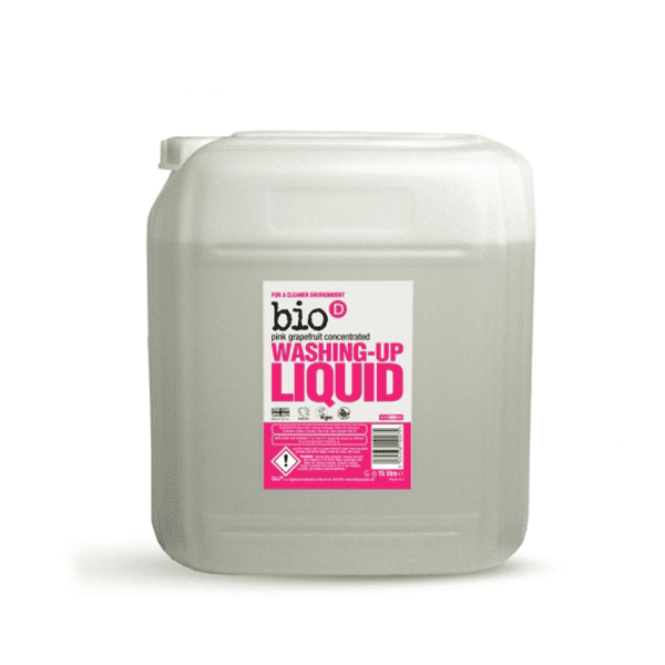 Bio-D Pink Grapefruit Washing Up Liquid – 15L – The Bio-D Company