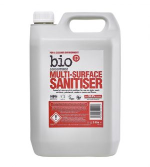 Bio-D Multi Surface Sanitiser – 5L – The Bio-D Company