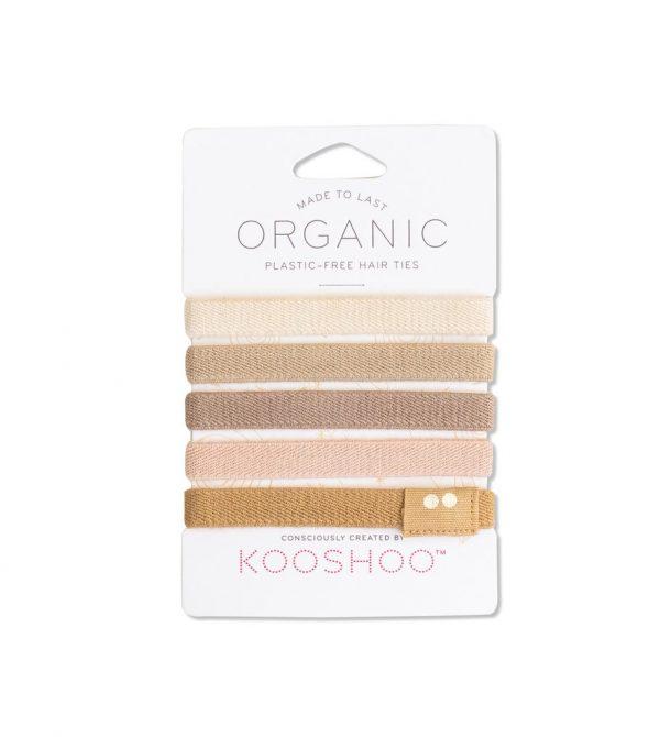 ORGANIC HAIR TIES blond – KOOSHOO