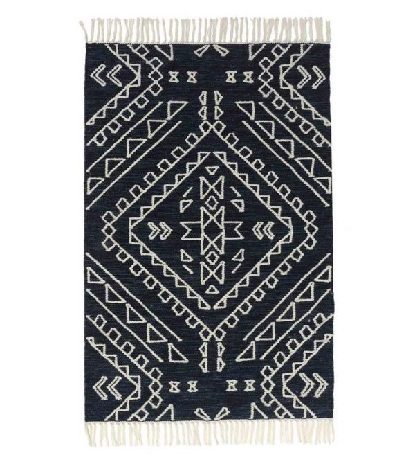 Blue My Mind Kilim Rug