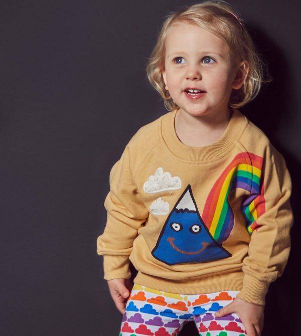 Tawny Happy Days Sweatshirt
