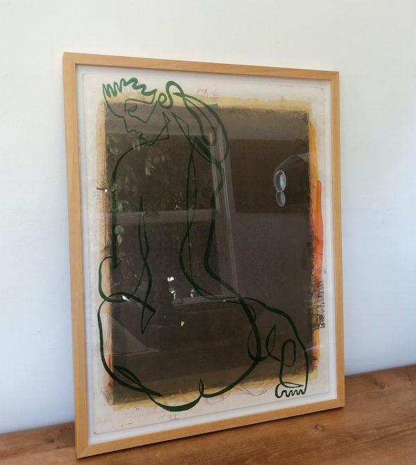 Jean Negulesco Green/Orange — counter-space