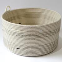 Coiled Cotton Basket