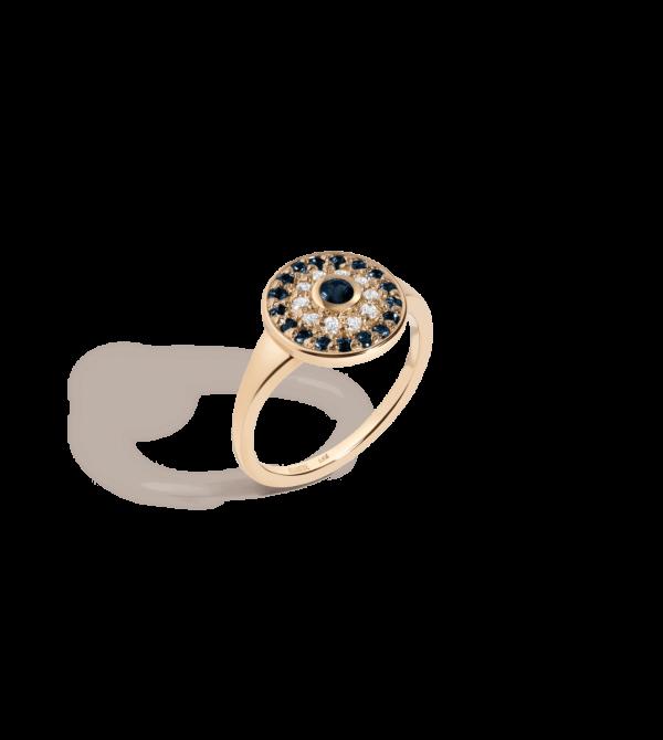 Daisy Calibré Gemstone Ring