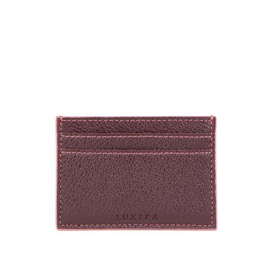 Card Holder – Burgundy