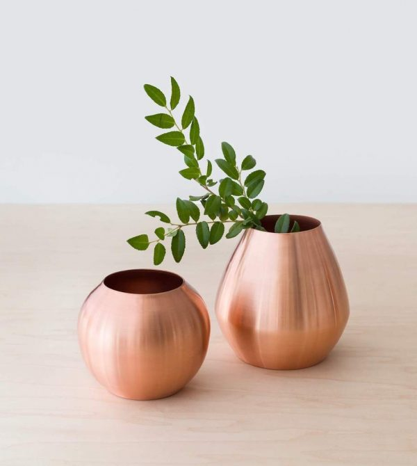 Copper Bud Vases | Metallic Flower Vases – The Citizenry