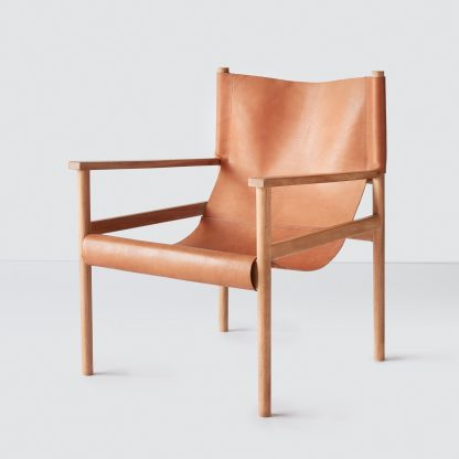 Modern Safari Chair in Leather – The Citizenry
