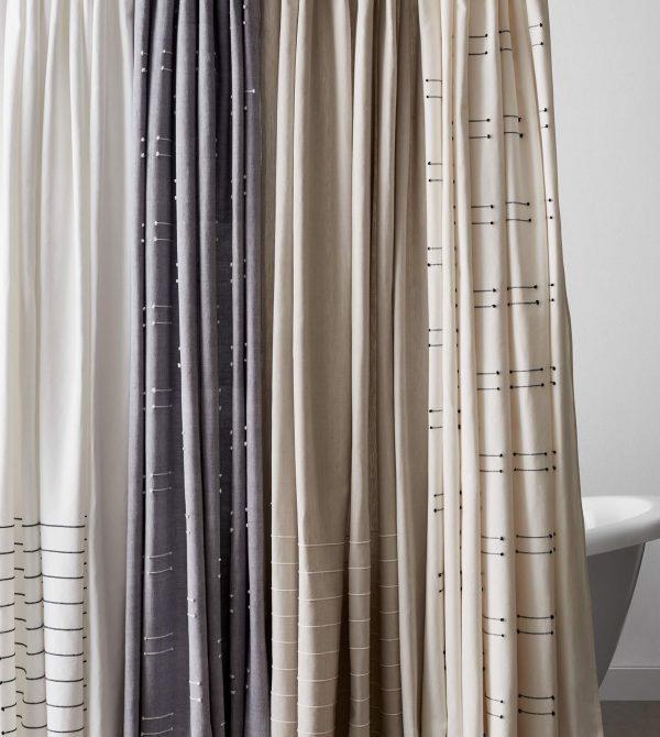 Loktak Shower Curtain