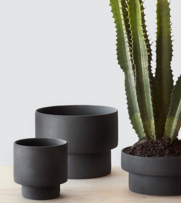 Matte Black Planters | Handcrafted in Vietnam – The Citizenry