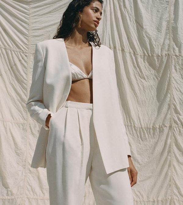 Arlet Trouser Cream · TOVE Studio  · Advanced Contemporary Womenswear Brand