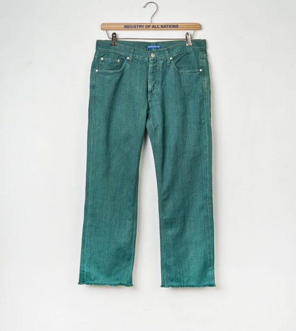 Clean Jeans (Green)- Straight