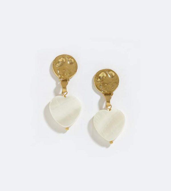 Coastal Heart Earrings