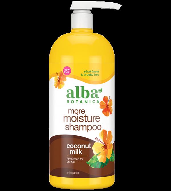more moisture shampoo – Alba Botanica