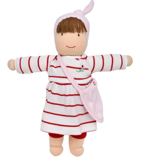Jill Dress Up Doll – Red and White