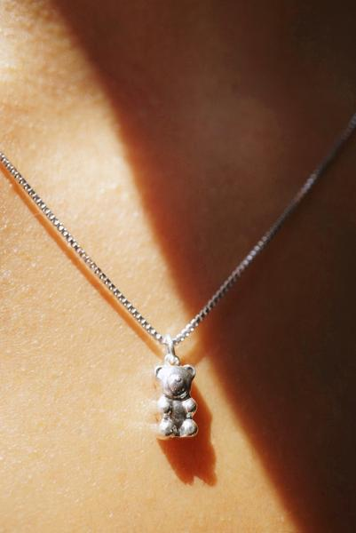 Gummy Bear Charm Necklace *made-to-order