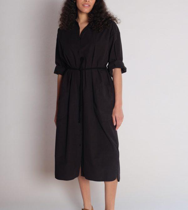 LASSO DRESS ^ BLACK — JESSE KAMM