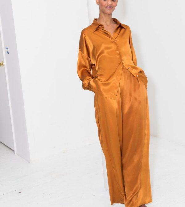 Gold Amber Ren Blouse