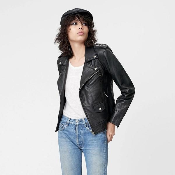 Deadwood Izzy Leather Jacket | Content UK