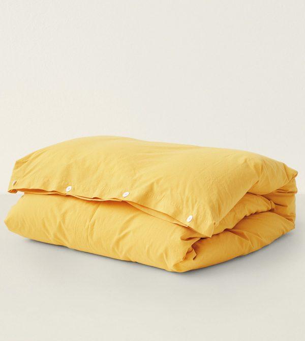 Duvet Cover – Amber Yellow by Tekla – Goodee world