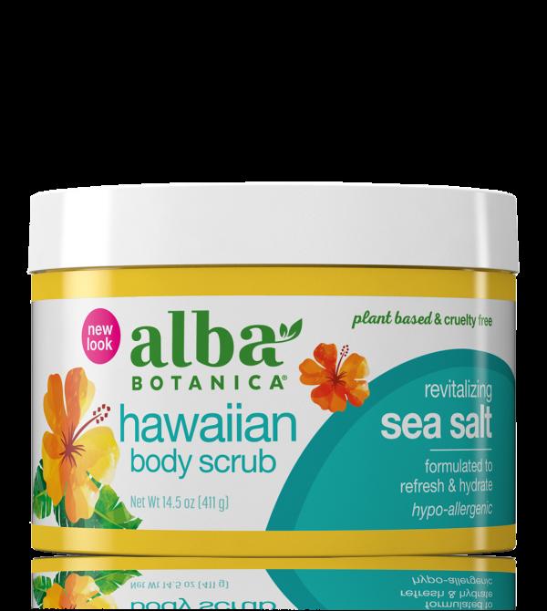 hawaiian body scrub – Alba Botanica