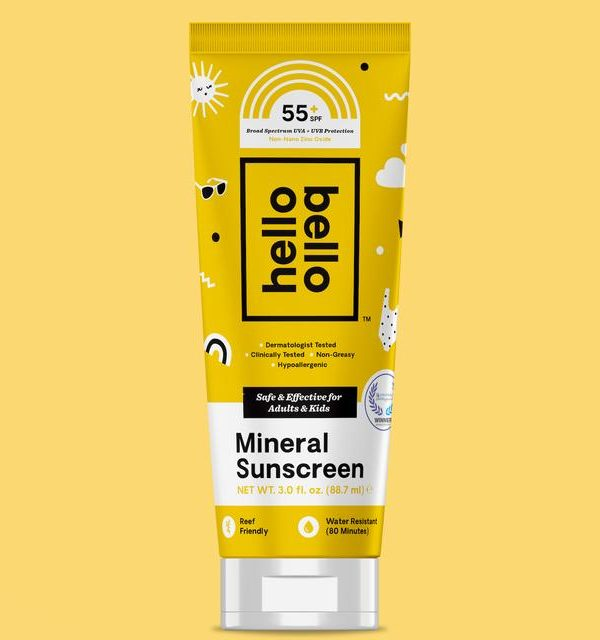 SPF 55+ Sunscreen Mineral Lotion