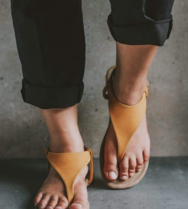 Mellow Yellow Slingback sandals – New!