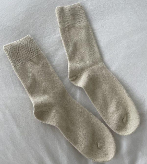 Bed Socks, Ivory | General Sleep