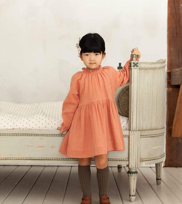 Antoinette Dress, Peony