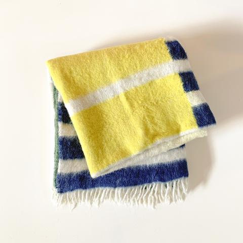 Maíz Napped Wool Throw – Meso Goods