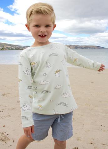 Sydney organic cotton long sleeve