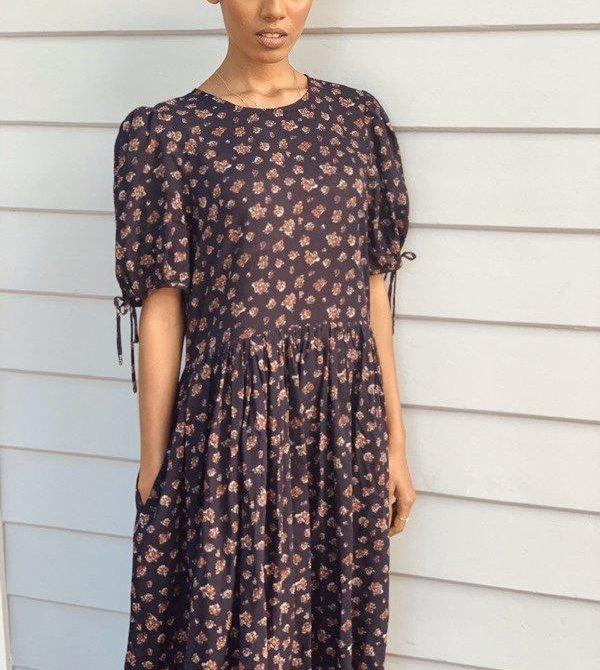 Cecilie Cotton Floral Dress