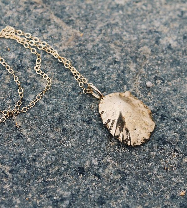 Cast Limpet Necklace  — Eliza Sloane Jewelry